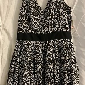 Black & White Dress by Taylor
